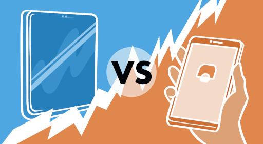 pantalla fija vs móvil
